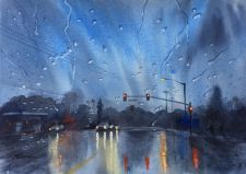 Wettest Painting ($300 Lisa Blaylock Realty, ColdWell Baker)