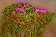 Emerging Artist - Artichokes by Lynn O'Brien