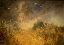 Honorable Mention ($100) - Approaching Storm by Frances Fisher