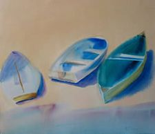Beyond the Surface (Complete set of Watercolor paints, donated by M.Graham) - Beached by Kathie Boisserie