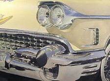 2nd Place - '58 Caddy by Mike Tinsley